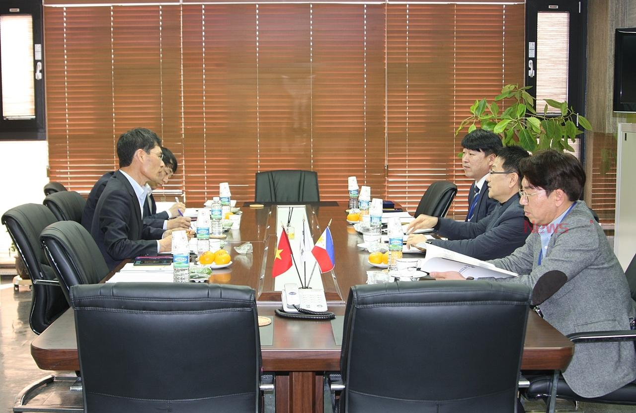 KTC 송유종 원장, 유망기업 '에코파워텍'을 가다 - 뉴스제주